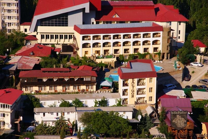 отель Бастион Судак