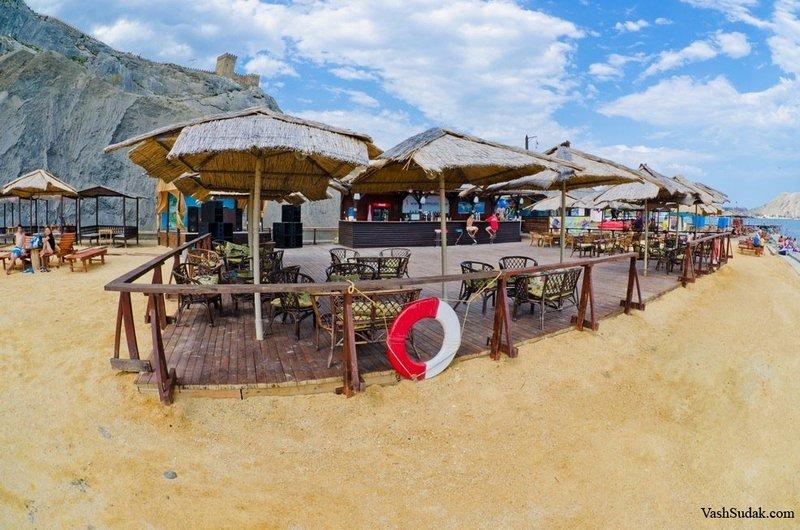 пляж махито судак